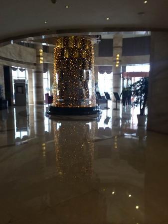 Welcome Regent International Hotel: 酒店大厅照明不足