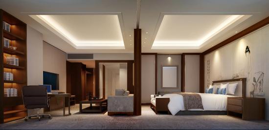 Shandong News Hotel: 豪华家庭套房