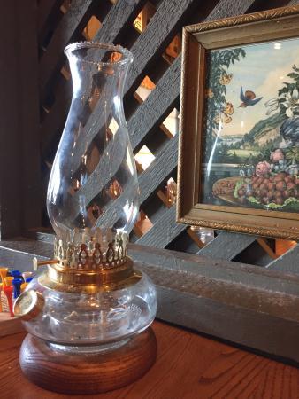 Bryan, Τέξας: 桌面的老式油灯