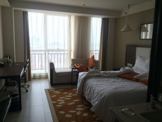 Yuyao, Κίνα: 10楼的高级大床房