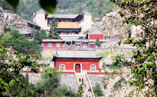 Anyang County, China: 安阳长春观外景