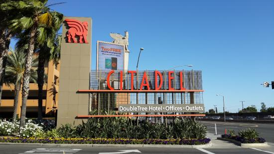 map - Picture of Citadel Outlets, Los Angeles - TripAdvisor Citadel Outlets Map on