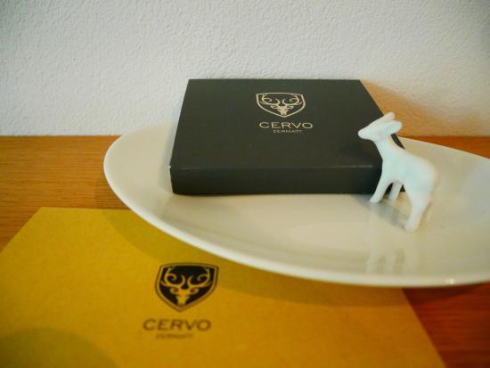 CERVO Zermatt: 附赠瑞士巧克力