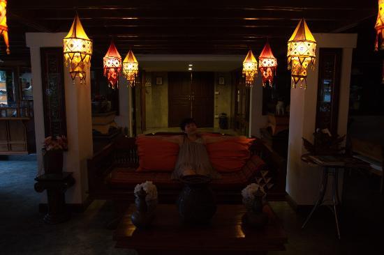 Chompor Lanna: 酒店欢迎区