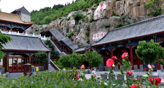 Anyang County, China: 长春观景区