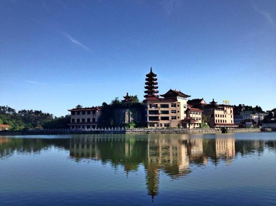 Xianning, Chine : 酒店周边景点-九宫山