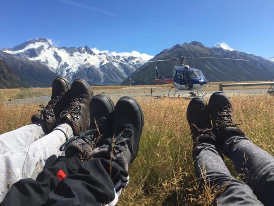 Franz Josef, Selandia Baru: 准备出发