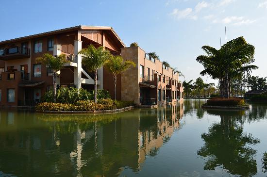 Mile, Cina: 这是湖泉酒店(A区)环境最为优美