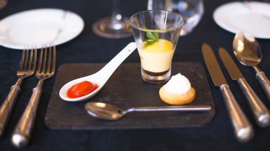 La table des delices : 前菜,现在流行的分子料理
