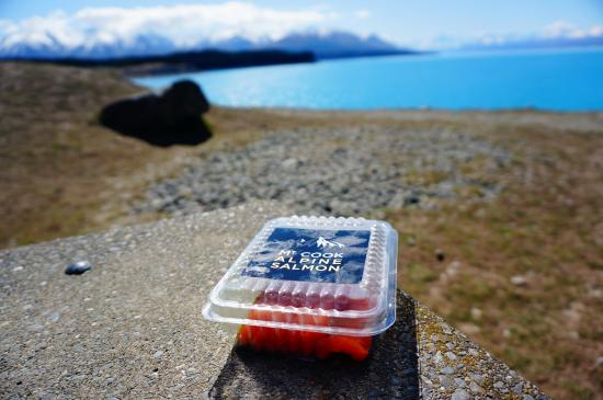 Twizel, Nueva Zelanda: Mt. Cook Alpine Salmon Farm
