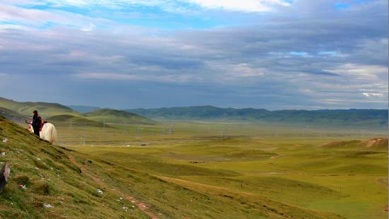 Qinghai, China:  文成公主
