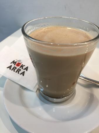 Caffe de' Pinti: 咖啡还不错。但是要点餐才能坐下喝。后来老爷爷同意让我吧台坐会。累死宝宝了