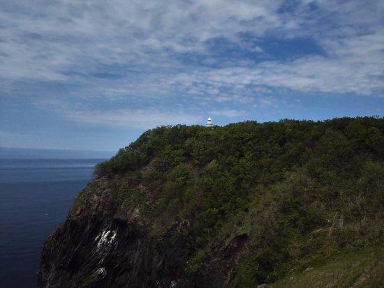 Shiretoko Nature Center: 悬崖上的瀑布,也叫情人的眼泪