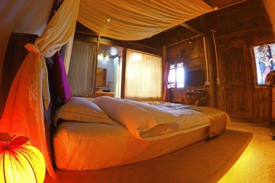 Lvye An Jia: 六号房(二楼豪华大床房)