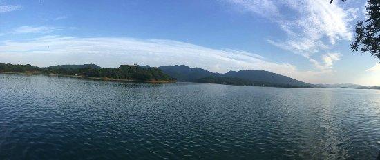 Shuifu Temple Reservoir: 水府庙水库风景宜人!