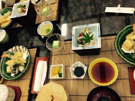 Tonosho-cho, Japan: Japanese Cusine Shimakatsu