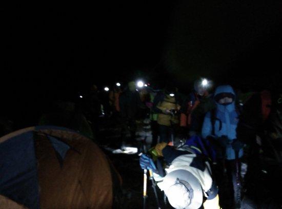 Xiaojin County, จีน: 凌晨3点出发登顶