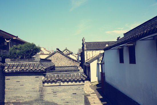 Jiangdu, China: 邵伯古镇