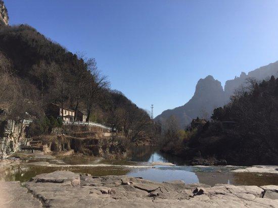 Huixian, จีน: 远观太行山