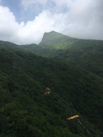 Huailai County, China: 索道一定要坐,不一样的美景