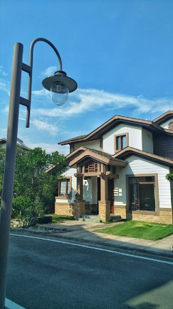 Fogang County, Kina: 我们入住的是别墅