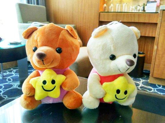 Marco Polo Shenzhen: 客房里的小玩具