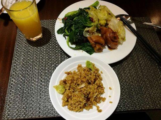 Zibo, China: 晚餐也不错