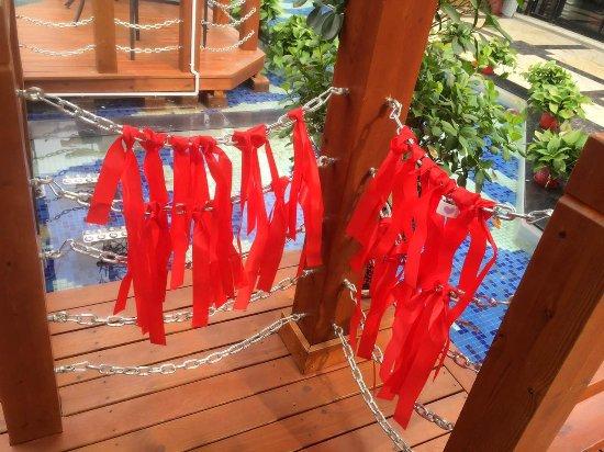 Baoding, Chiny: 空中餐吧