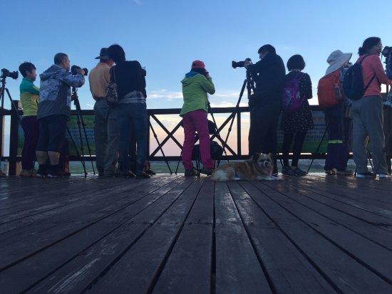 Zhangbei County, China: 摄影爱好者们,滦河神韵风景区