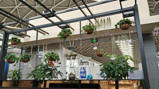 Shuangliu County, Κίνα: 咖啡厅内部