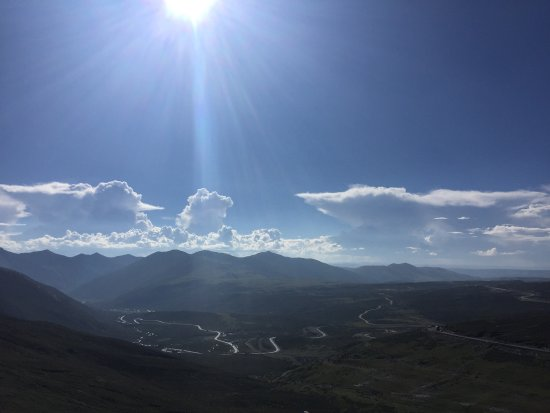 Kangding County, China: 海拔有点高,风景不错