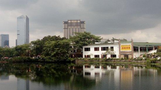 Huizhou, Kina: 小西湖美景第一排