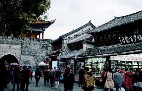 Dali, China: 古城内景象