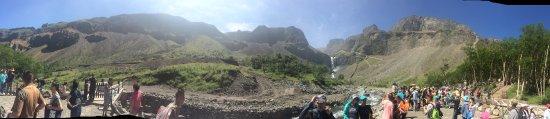 Baishan, China: 长白山瀑布