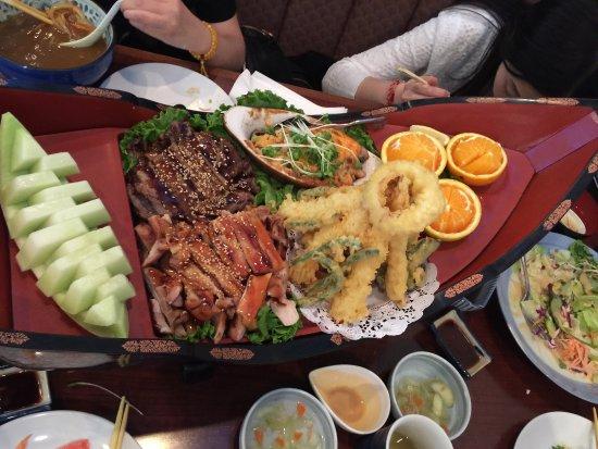 Walnut, Californien: 食材新鲜,有中文服务员,沟通无障碍