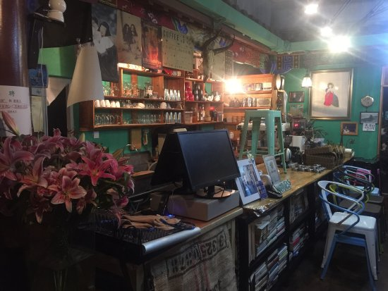 Chuxiong, Chine : 韩贝是楚雄市内唯一的一家正宗韩国人家开的餐厅。韩国妈妈做菜。自家味道。还有韩贝兄弟的正宗咖啡。楚雄仅此一家。不能再好了。