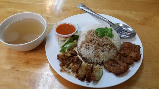 Zhu Yuan Vegetarian Restaurant: 素g饭