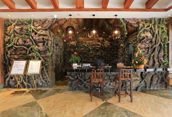 Beihai, Cina: 酒店总台