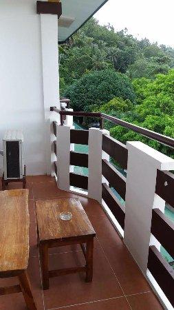 Sabang, Filippinene: 阳台吸烟区