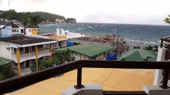 Sabang, Φιλιππίνες: 海景房阳台上的视野