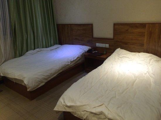 365 Inn (Beijing Heping West Street): 这就是回到房间以后的床