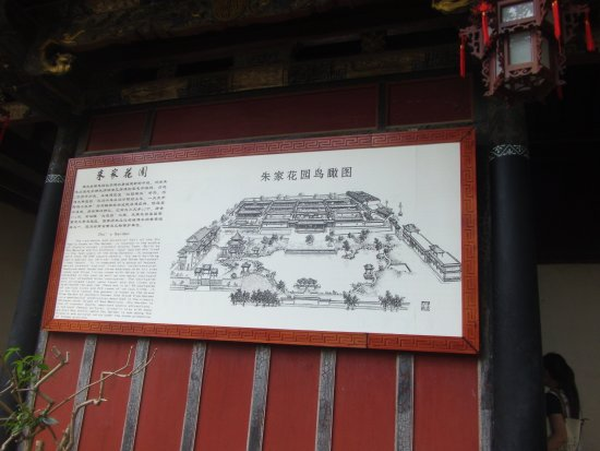 Jianshui County, China: 园内示意图