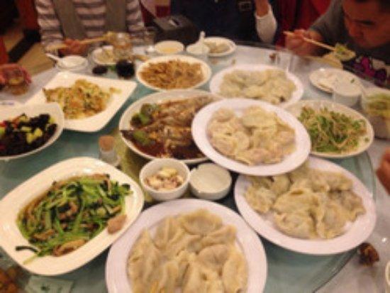 Tangshan, Cina: 好吃不如饺子
