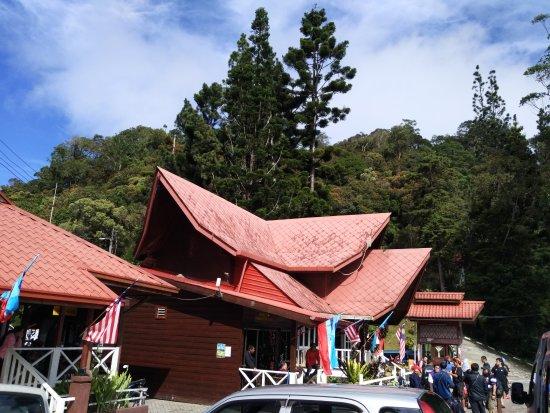 Kota Kinabalu District, Malezja: 登记处 人气还是很足的哦,这是很早的一批呢~基本上都是老外。