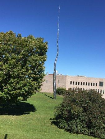 Ottawa, Canada: 渥太华国家美术馆附近 路码表拍
