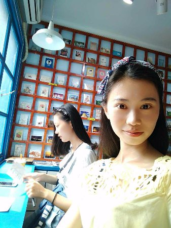 Цзинань, Китай: 拖寄明信片