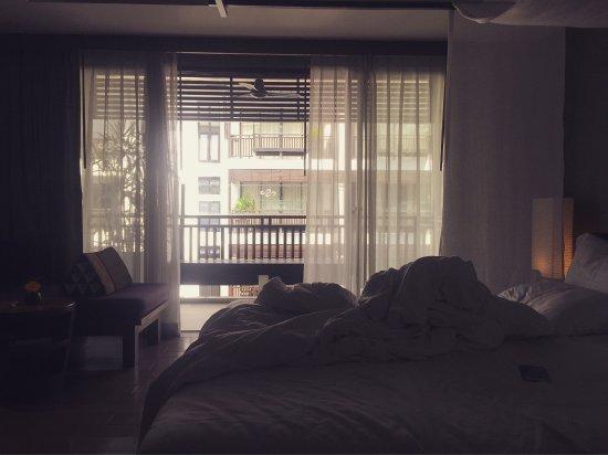 房间还不错。地理位置也不错。有瑜伽课可以上