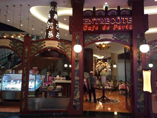 Entrecote Cafe De Paris Dubai