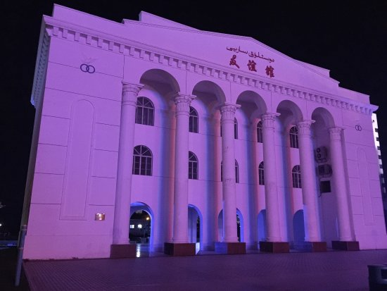 Karamay, الصين: 庄严,肃穆,寂静,富有历史感。