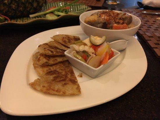 The Westin Siray Bay Resort & Spa Phuket: curry lamb